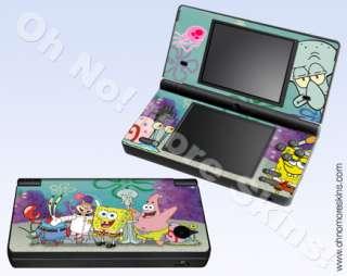 Nintendo DSi Skin Vinyl Decal   Spongebob & Friends