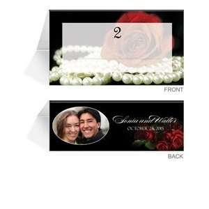 50 Photo Place Cards   Material Girl