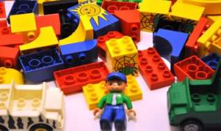 LOT of 100% LEGO DUPLO Specialty Building Blocks Base Plate Windows