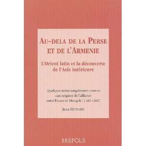 decouverte de lasie interie (9782503517124) Jean Richard Books