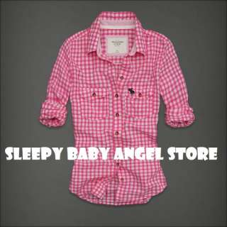 NWT Abercrombie & Fitch Womens Classic Spring Shirts