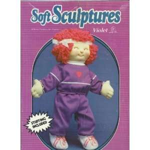 Soft Sculptures, 18 Soft Sculptured Doll Kit, Violet