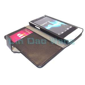 Leather Case Cover For Sony Ericsson Xperia S Xperia Arc HD LT26i
