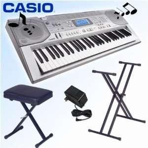 Casio CTK 800 Keyboard + Accessory Kit