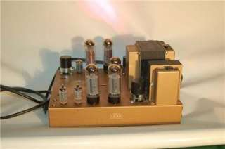 Leak 50 Stereo tube amplifier VG Working  