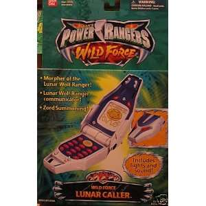 SABANS POWER RANGERS WILD FORCE LUNAR CALLER Toys
