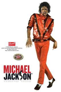 80s Michael JACKSON THRILLER Costume Jacket Red CHILD