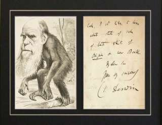 a paper on charles darwin and theory of evolution Free essay: charles darwin's theory of evolution centres on the idea that species compete to survive, and favorable characteristics are passed on from one.