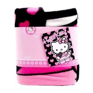 Sanrio Hello Kitty fleece throw blanket 50x60