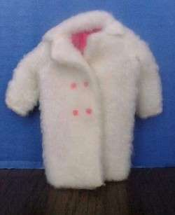 VINTAGE BARBIE SKIPPER DOLL MOD COAT TO CHILL CHASERS 1966