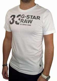 Star Raw Mens Nomad R T Shirt White