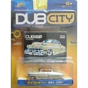 Jada Dub City 1953 Chevy Bel Air 1:64 Scale Die Cast Car