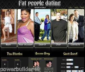 Established Online Fat People Friendship Dating Website For Sale