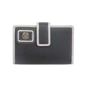 Clemson Tigers Black and Silver Trifold Wallet