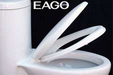 DUAL FLUSH ONE PIECE ULF ECO FRIENDLY TOILET EAGO T104
