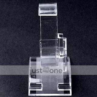 10 pcs Plastic Wrist Watch Display Rack Holder Sale Show Tool Stand