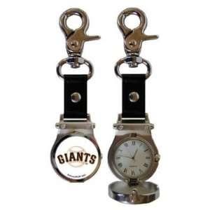 San Francisco Giants Clip On Sport Watch   MLB Baseball Fan