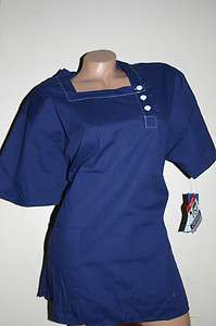 Scrup Top Medical uniform Style #238 Easy Care Fabric Navy