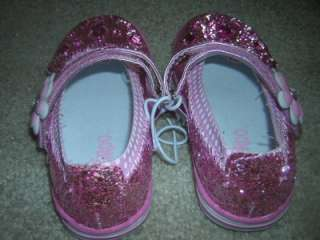 CIRCO Pink Jeweled Girls Mary Jane Party Shoes Size 7C