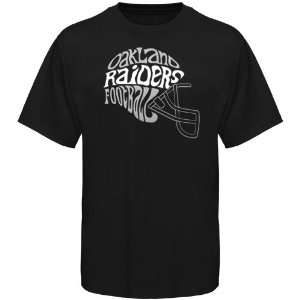 NFL Oakland Raiders Youth Skewed T Shirt   Black