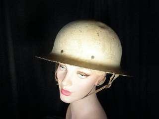 HARD HAT CHIC~~60s Office of Civil Defense steel helmet~O.C.D.~U.S