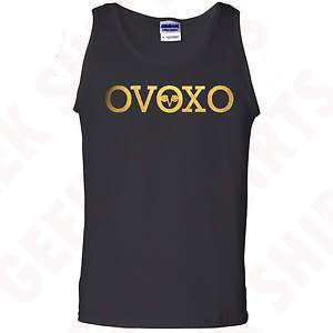 OVO Drake Octobers very own tank top shirt GOLD OVOXO logo YMCMB tee