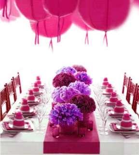 10 x Hot Pink satin Table Runner wedding Deco 12x108