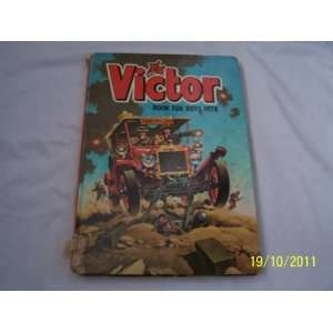 THE VICTOR BOOK FOR BOYS 1978 (ANNUAL) D C THOMSON Books