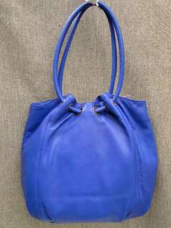 Michael Kors Cobalt Leather Ring Tote NWT