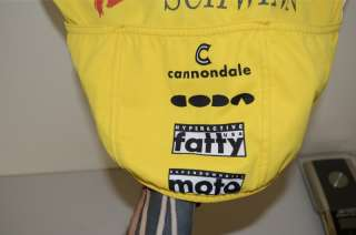 Cannondale Headshok Fatty Coda cycling jersey size Medium   vintage