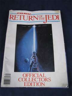 1983 Star Wars Return of the Jedi Collectors Edition