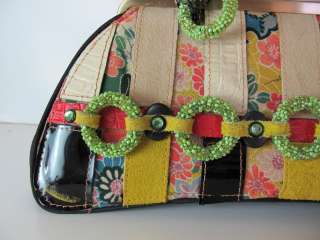 Designer MARY FRANCES San Francisco Unique Whimsical Handmade Handbag