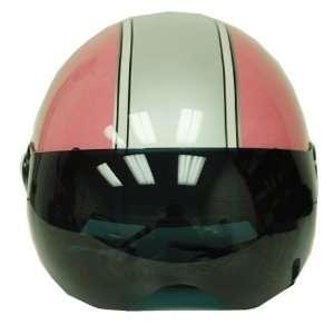 Motorcycle Street Bike Open Face 3/4 Jet Pilot Helmet