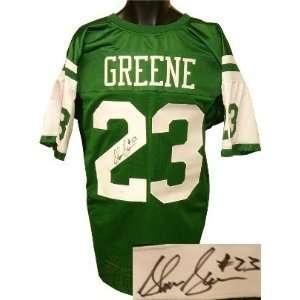 Shonn Greene signed New York Jets Green Prostyle Jersey