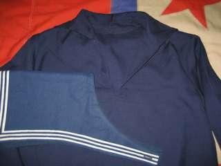 RUSSIAN NAVY Sailor Shirt Autumn Winter 52/XL 41
