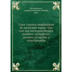 seudoÌnimos de escritores espanÌ?oles con sus correspondientes