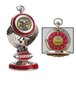 Franklin Mint HARLEY DAVIDSON ~ ULTIMATE 1948 PANHEAD POCKET WATCH