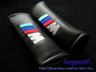 BMW M Power Logo Seat Belt Shoulder Pads Kit