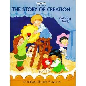 The Story of Creation (My Bible Pals Coloring Books