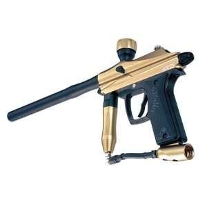 Azodin Kaos Semi Auto Paintball Gun   Gold/Black Sports