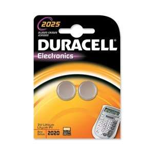 CR2025 Duracell 3 Volt Lithium Coin Cell Battery 2 on a