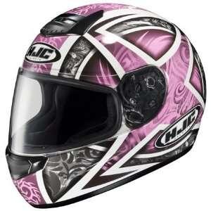 HJC CS R1 Daggar Full Face Helmet Large  Pink Automotive