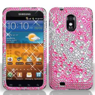 FADE DIAMOND BLING CASE COVER for Samsung D710 Epic Touch 4G