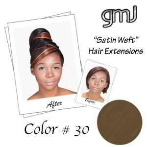 Color# 30   Ginger Spice   Medium Auburn) 100% Human Remy Hair