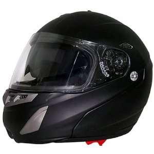 Dual Visor Full Face DOT Modular Motorcycle Helmet [LARGE] Automotive