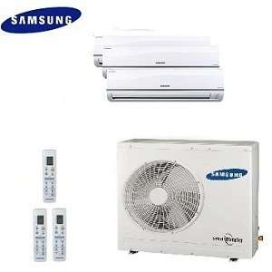 Samsung Free Joint Multi Split Ductless Tri Zone Heat Pump