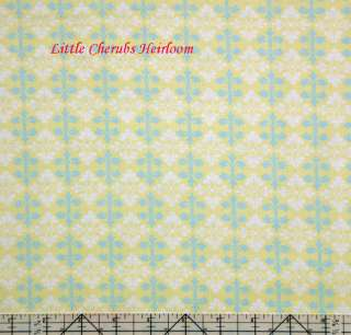 Darla Rose Ditty Yellow French Wallpaper Fabric