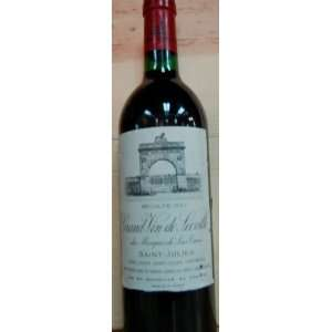 Chateau Leoville Las Cases St. Julien 750ml: Grocery & Gourmet Food
