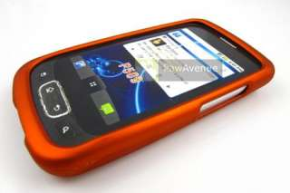 ORANGE Rubberized Hard Case Cover Tmobile LG Optimus T