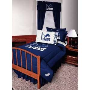 NFL Detroit Lions Complete Bedding Set Full Size
